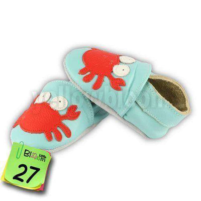 Soft Leather Infant Leather Skid-Proof Shoes 27 / 5