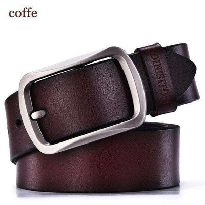 Strap Male Cowhide Belts Rg Coffe / 100Cm Belts