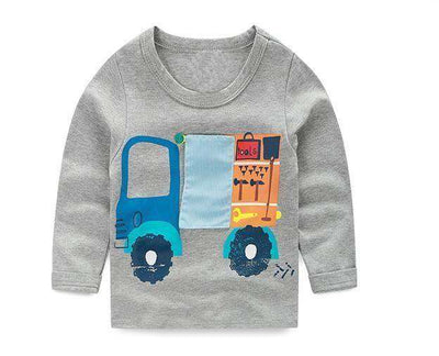 T-Shirt Boy Long Sleeve 100% Cotton Same As Photo 1 / 18M