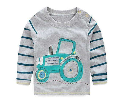T-Shirt Boy Long Sleeve 100% Cotton Same As Photo 10 / 18M