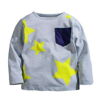 T-Shirt Boy Long Sleeve 100% Cotton Same As Photo 11 / 18M