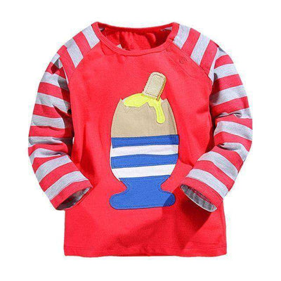 T-Shirt Boy Long Sleeve 100% Cotton Same As Photo 15 / 18M
