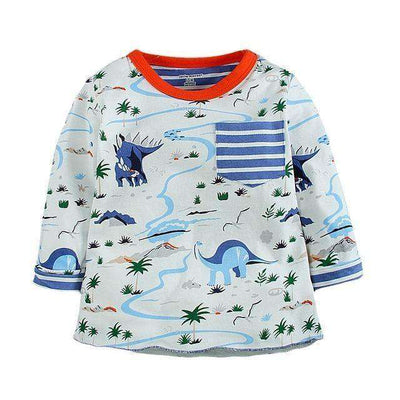 T-Shirt Boy Long Sleeve 100% Cotton Same As Photo / 18M