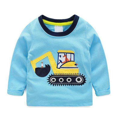 T-Shirt Boy Long Sleeve 100% Cotton Same As Photo 3 / 18M