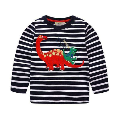 T-Shirt Boy Long Sleeve 100% Cotton Same As Photo 5 / 18M