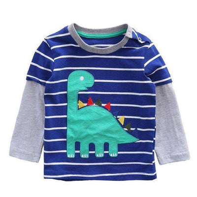 T-Shirt Boy Long Sleeve 100% Cotton Same As Photo 8 / 18M