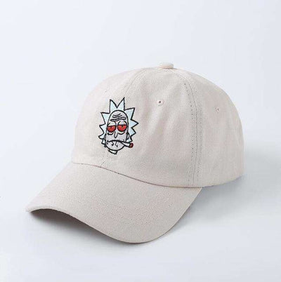 The New Us Animation Rick Caps Beige Baseball Caps