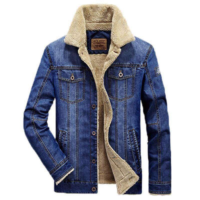Thick Warm Jeans Jacket Jackets