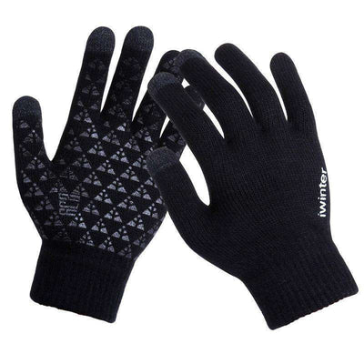 Thicken Warm Wool Cashmere Gloves Gloves