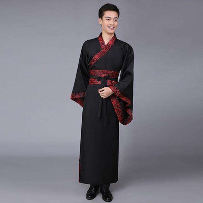 Traditional China Tang Suit Black / S Dance Wear