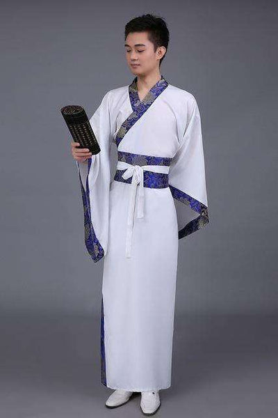 Traditional China Tang Suit White / S Dance Wear