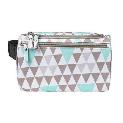 Travel Cosmetic Organizer Bag Waterproof Wash Bag Triangle