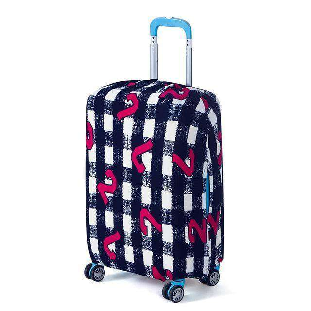 Travel Luggage Protective Covers Suitcase Cover Ripple / S