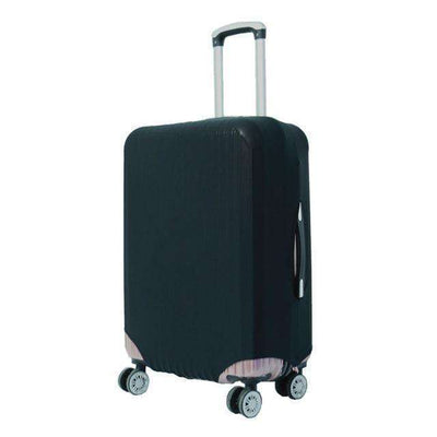 Travel Suitcase Dust Cover Shell Elasticity Stretch Trolley Case Black / S
