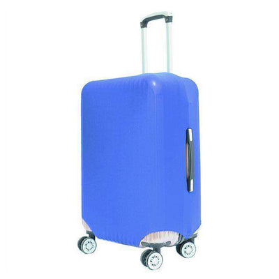 Travel Suitcase Dust Cover Shell Elasticity Stretch Trolley Case Blue / S