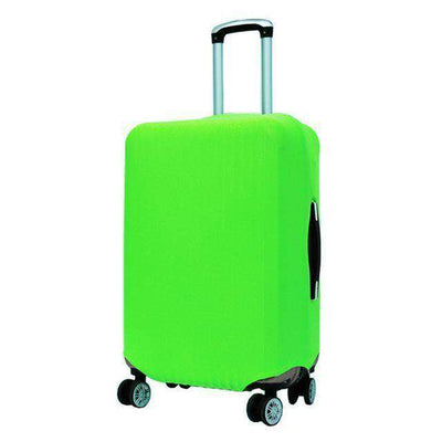 Travel Suitcase Dust Cover Shell Elasticity Stretch Trolley Case Green / S