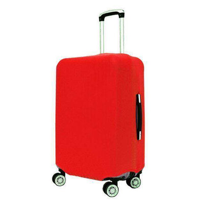 Travel Suitcase Dust Cover Shell Elasticity Stretch Trolley Case Red / S
