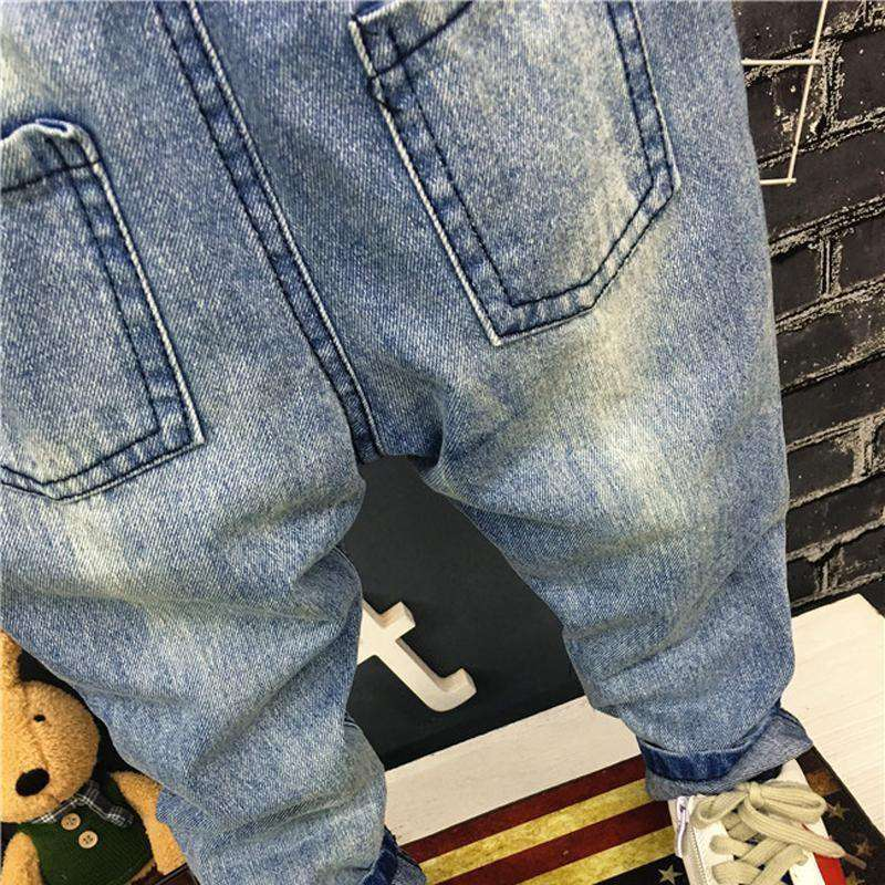 Trousers 1-7Y Baby Boys Girls Jeans Casual Pants
