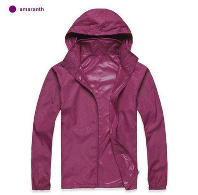 Ultra-Light Quick Dry Skin Jackets Amaranth / S Jackets