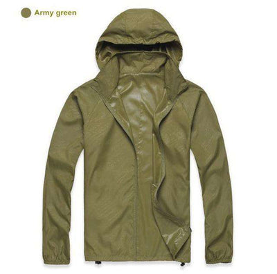 Ultra-Light Quick Dry Skin Jackets Army Green / S Jackets