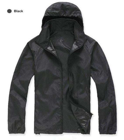 Ultra-Light Quick Dry Skin Jackets Black / S Jackets