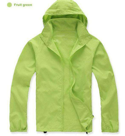 Ultra-Light Quick Dry Skin Jackets Fruit Green / S Jackets