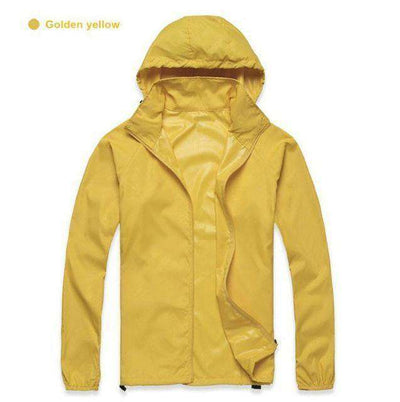 Ultra-Light Quick Dry Skin Jackets Gold Yellow / S Jackets