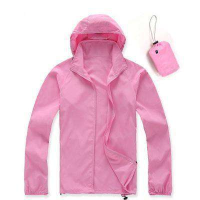 Ultra-Light Quick Dry Skin Jackets Pink / S Jackets