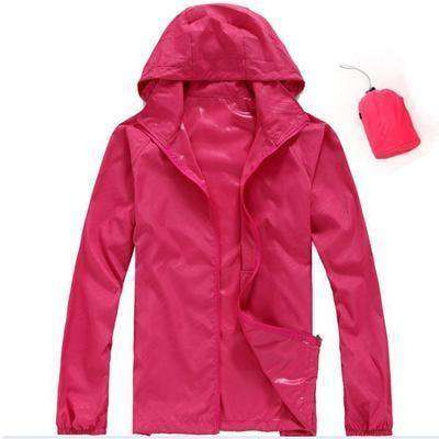 Ultra-Light Quick Dry Skin Jackets Rose / S Jackets