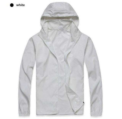 Ultra-Light Quick Dry Skin Jackets White / S Jackets