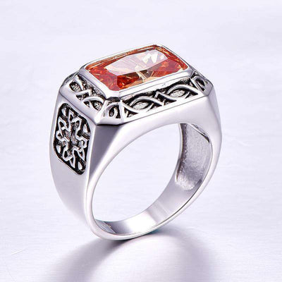 Vintage Men Silver Ring Jewelry 925 Sterling Silver Jewelry