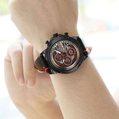 Waterproof 24 Hour Date Quartz Watch