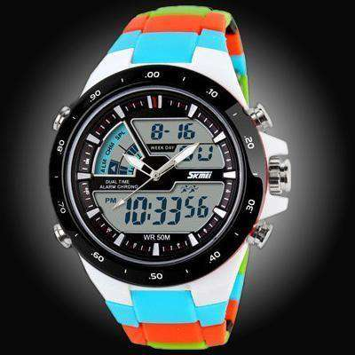 Waterproof Mens Sports Watches Men Silicone Sport Watch