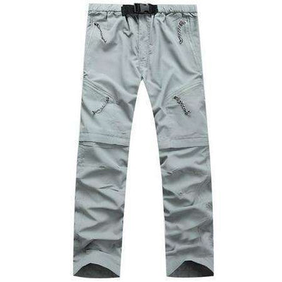 Waterproof Military Active Multifunction Pockets Cargo Pants Light Gray / S Cargo Pants