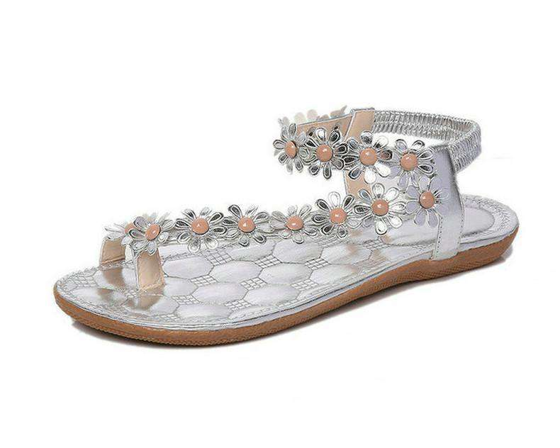 Women Sandals Summer Style Bling Bowtie Fashion