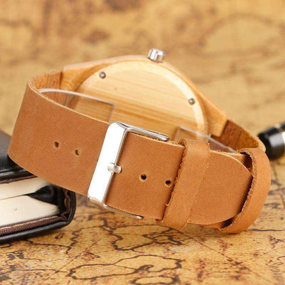 Women Watches Bracelet Bamboo Watch Ladies Cool Design