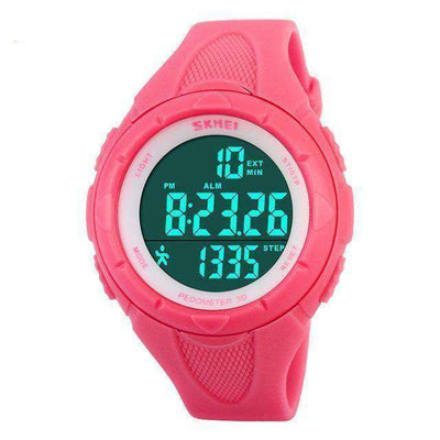 Women Watches Ladies Pedometer Led Digital Watch Xm1025S