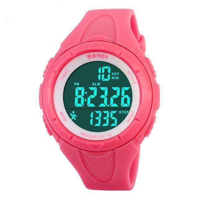 Women Watches Ladies Pedometer Led Digital Watch Xm1025G