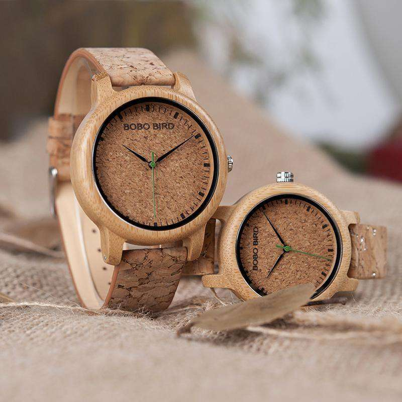 Wood Quartz Watch For Men And Women Wristwatches