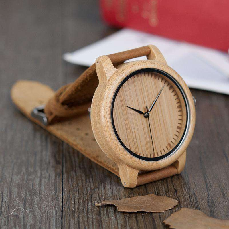 Wood Watches For Men And Women Fashion