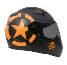Orange Military Star design