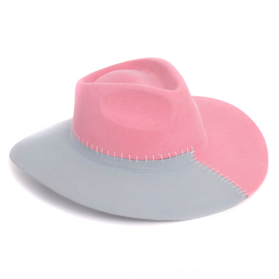 Nudo Pink & Light Blue Hat