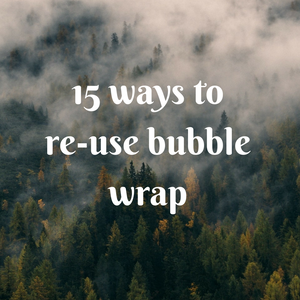 15 ways to re-use bubble wrap