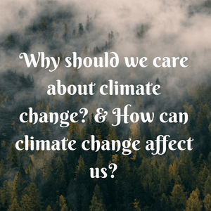 Fight climate change - Climate Change is real