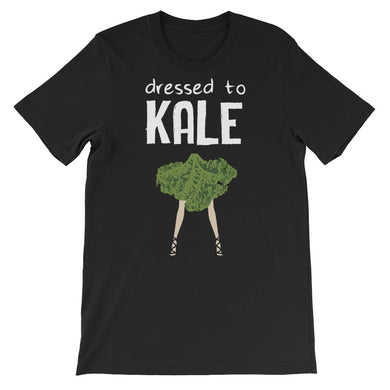 Dressed to Kale Unisex T-Shirt - Dark - Save Our Trees Now - Fight Climate Change
