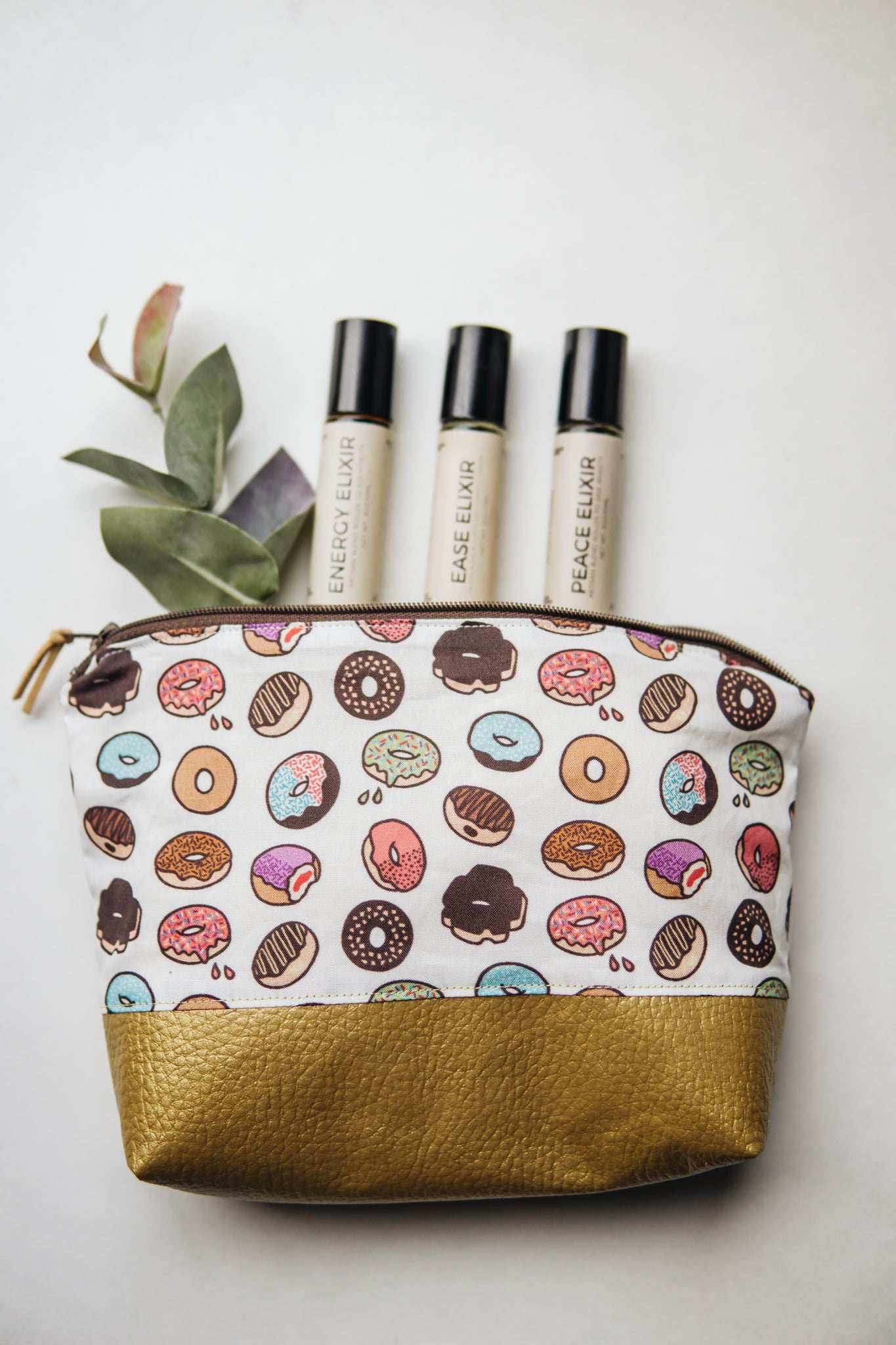 Donut Essential Oil Pouch