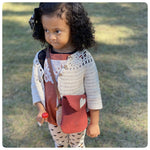Red Scallop Girls Satchel