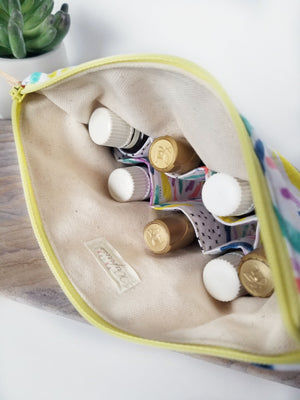 Brushstrokes Essential Oil Pouch