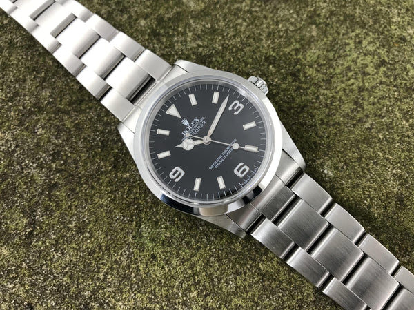 Rolex Oyster Perpetual Explorer Stainless Steel 14270 - Rolex | Back In Time International