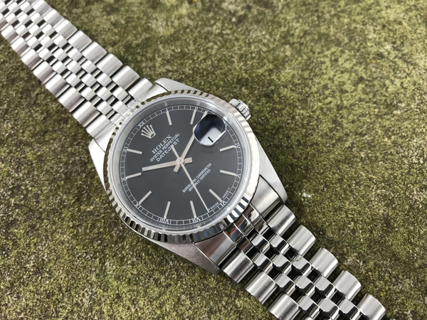 Rolex Oyster Perpetual Datejust Stainless Steel 16234 - Rolex | Back In Time International